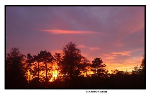 evening sunset by ESP