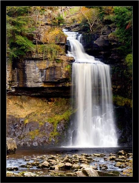 Autumn Waterfall by Pav