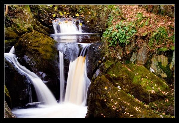 Autumn Waterfall II by Pav