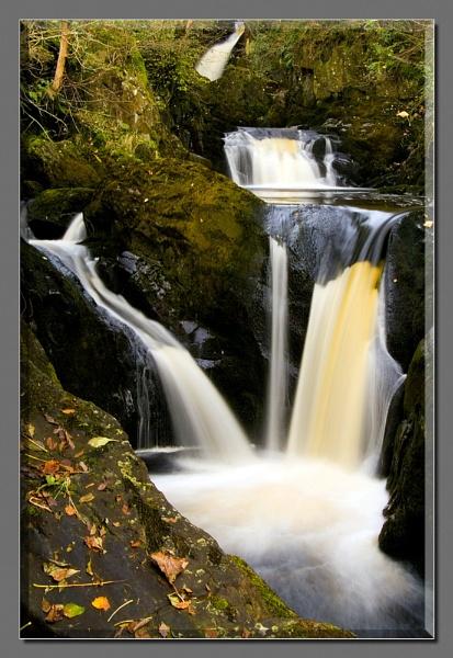 Autumn Waterfall IV by Pav