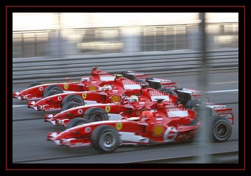 Quattro Ferrari by blackett