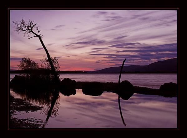 Scottish Sunset by conrad
