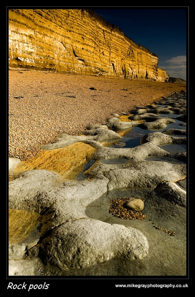 Rock Pools by Mike Gray