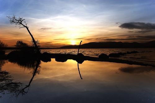 Mallarochy Bay Sunset by mcgoo