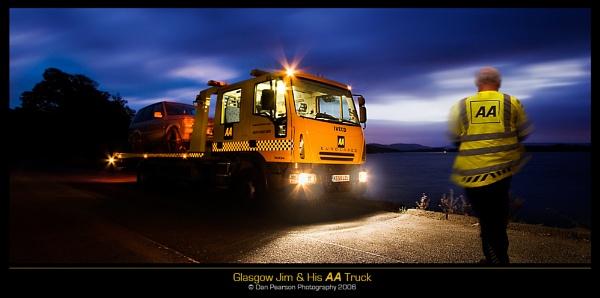 Glasgow Jim & His AA Truck by culturedcanvas