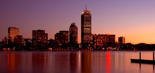 Boston Skyline by mdilley