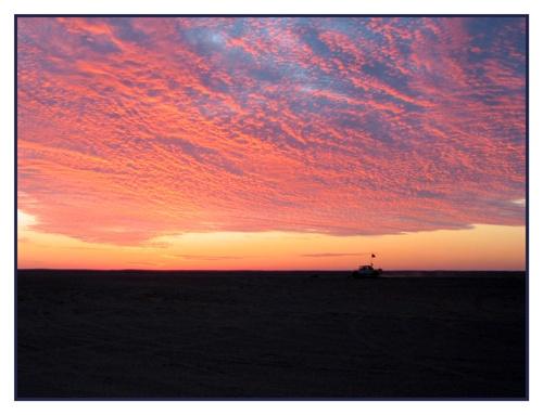 Into the sunset by PAllitt