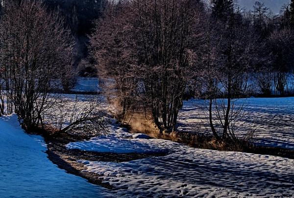 Winter morning by ambmilan