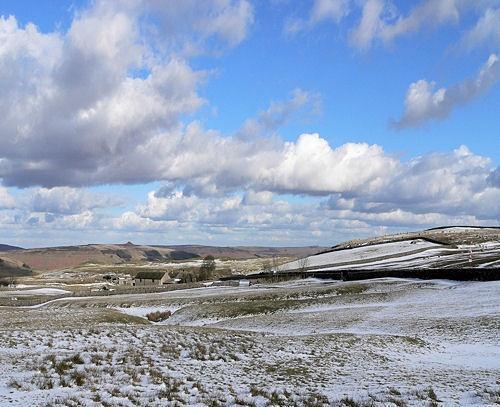 winter sky by vulcan