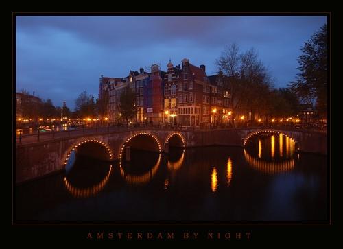 Amsterdam by Night by DaisyD50