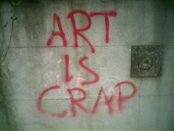 Art is Crap by StephenBrighton