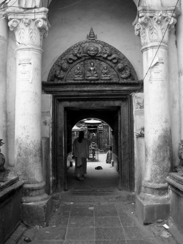 A Kathmandu Street by Savvouri