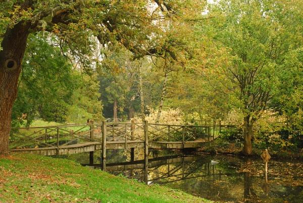 Bridge at Thorpe perrow by BrianSS