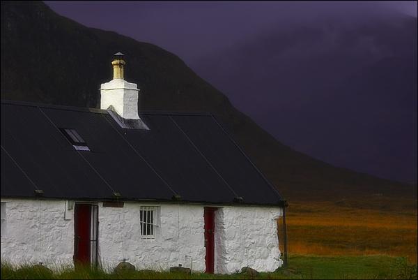 Black rock cottage by kit-monster