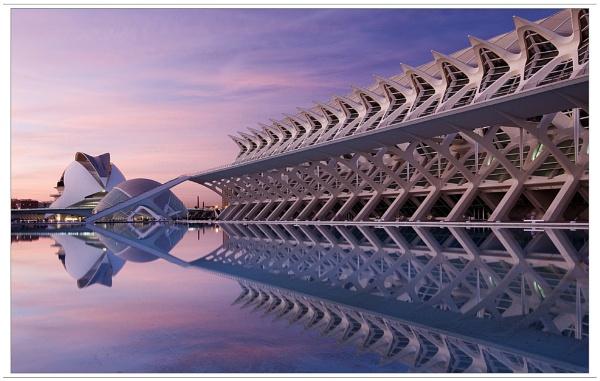 · Calatrava\'s City · by lloydee