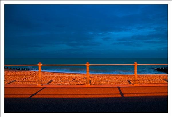 Seafront Twilight by randomrubble
