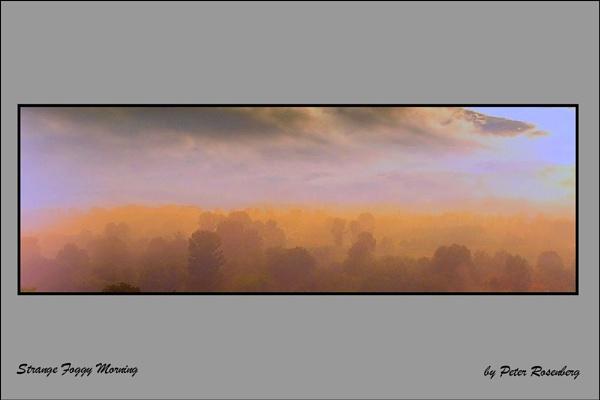 Strange Foggy Morning by pmscr