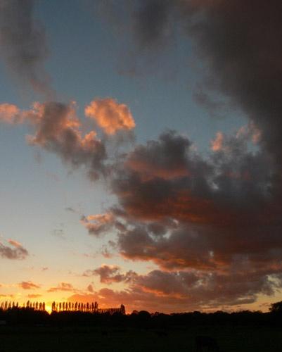 Sunset Sky by KarlmarxEra