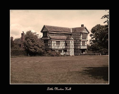 Little Morton Hall by sawdust