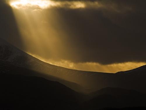 Another Floodlit Nevis Range by Finlayoman