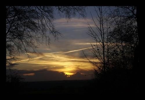 Hampshire Sunset by yasika