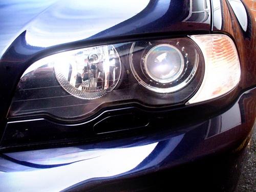 BMW Headlight Shot by chensuriashi