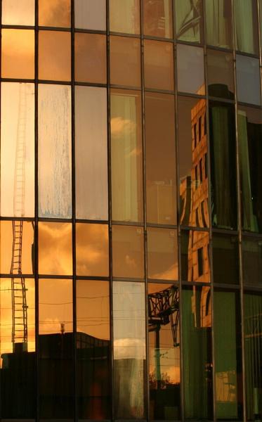 City Reflection by StephenBrighton