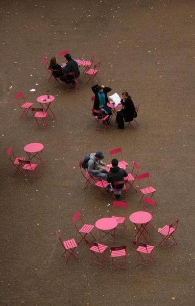 Pink Metal Furniture by StephenBrighton