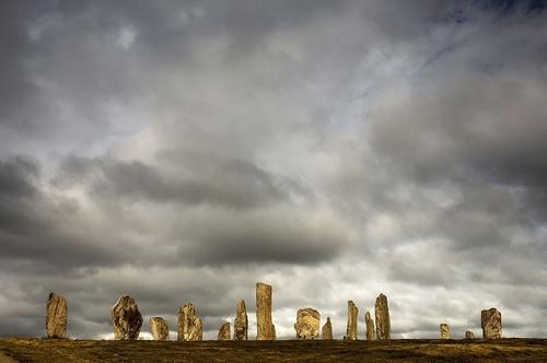 standing stones Calanais by john short