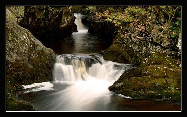 Autumn Waterfall V by Pav