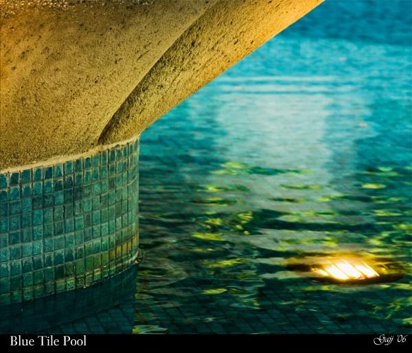 Blue Tile Pool by gajj