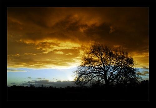 sky\'s on fire by arpix