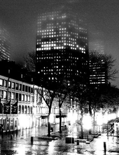 Boston Nights by mdilley