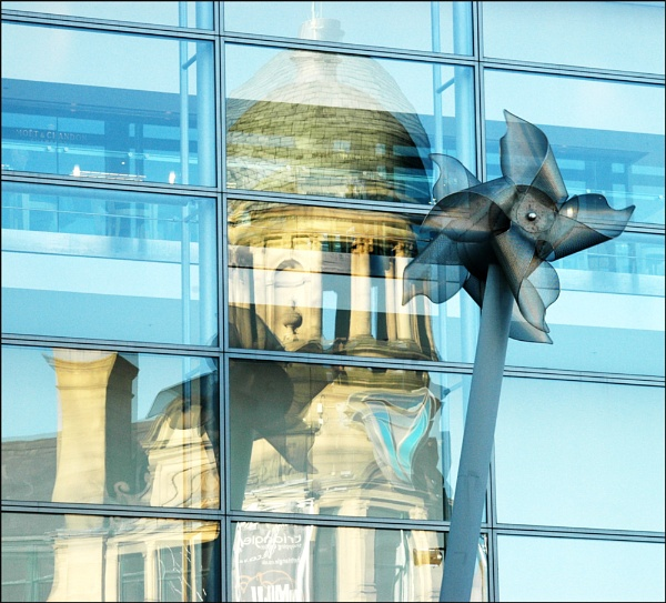 Manchester Reflections by TopsyTopping