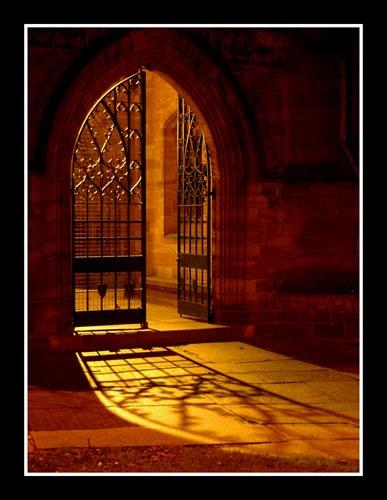 Church Door by icebabe