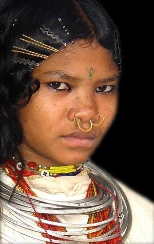 Native Girl, Orissa by Kali