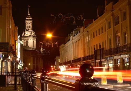 Church at Night by KarlmarxEra