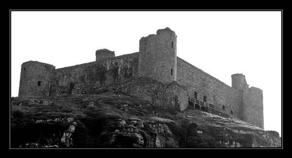 Harlech Castle by telfordtrio