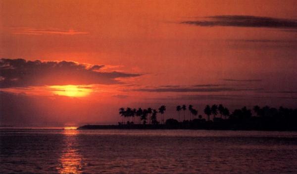 Senggi Beach Sunset by jkennedy