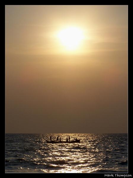 Evening fishing by mark2uk