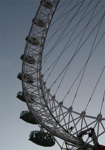 London Eye by nowhereishere