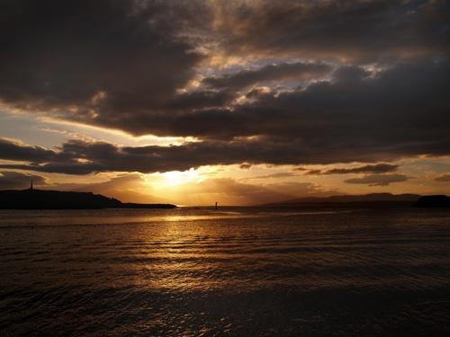 Oban to Lismore Sunset by Finlayoman