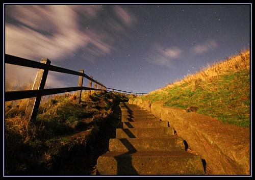 Steps in the Moonlight by u47sb2