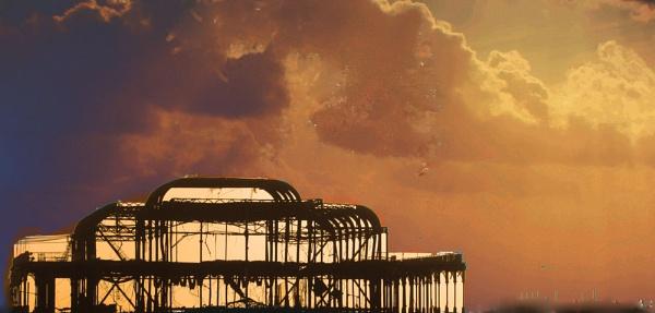 Overprocessed Pier by StephenBrighton
