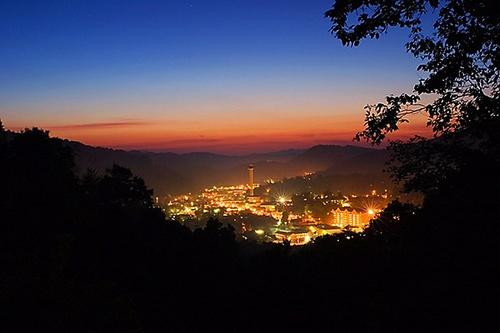 Bright Lights Of Gatlinburg by shutterbugcrazy