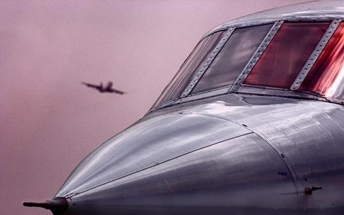 Speedbird\'s Sunset by psiman