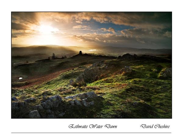 Esthwaite Water Dawn by chesh