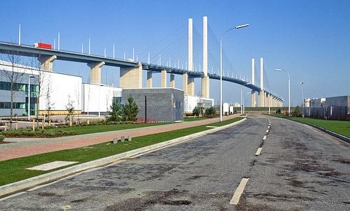 QE II  Bridge by JJGEE