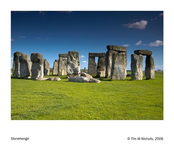 Stonehenge by Ammonyte