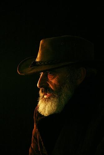 portrait of a photographer by dwWalker